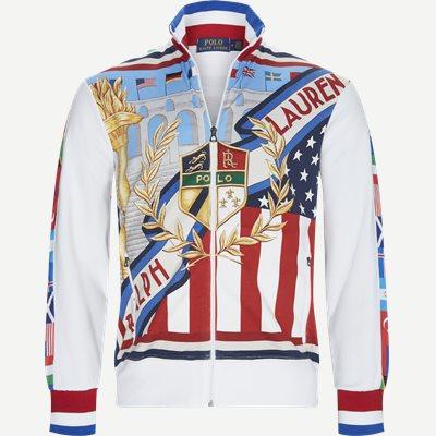 Mchariotsoffire Multi Zip Sweatshirt Regular | Mchariotsoffire Multi Zip Sweatshirt | Blå