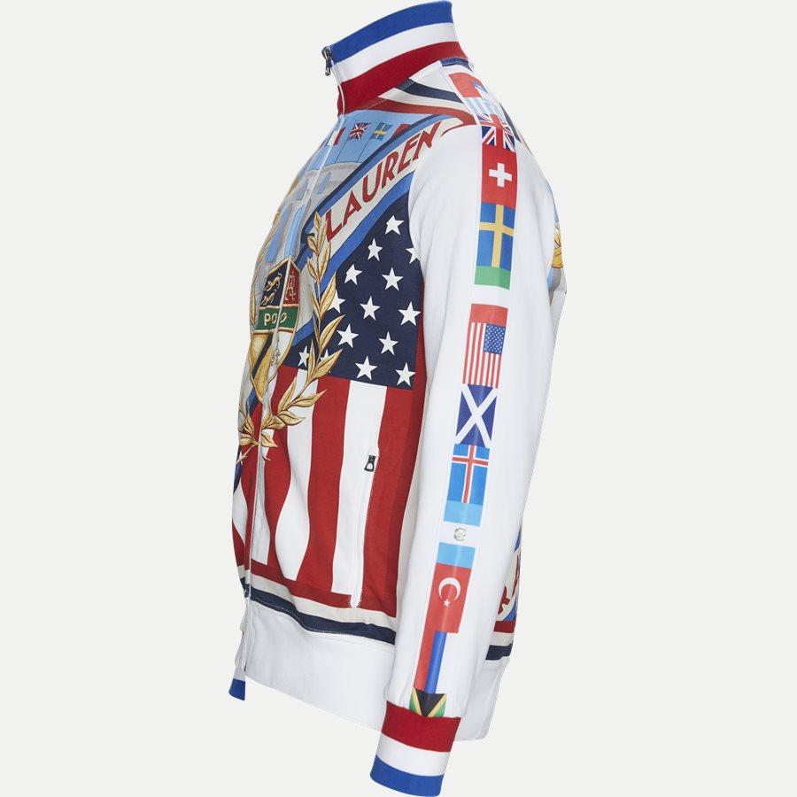 710746527 - Mchariotsoffire Multi Zip Sweatshirt - Sweatshirts - Regular - BLÅ - 3