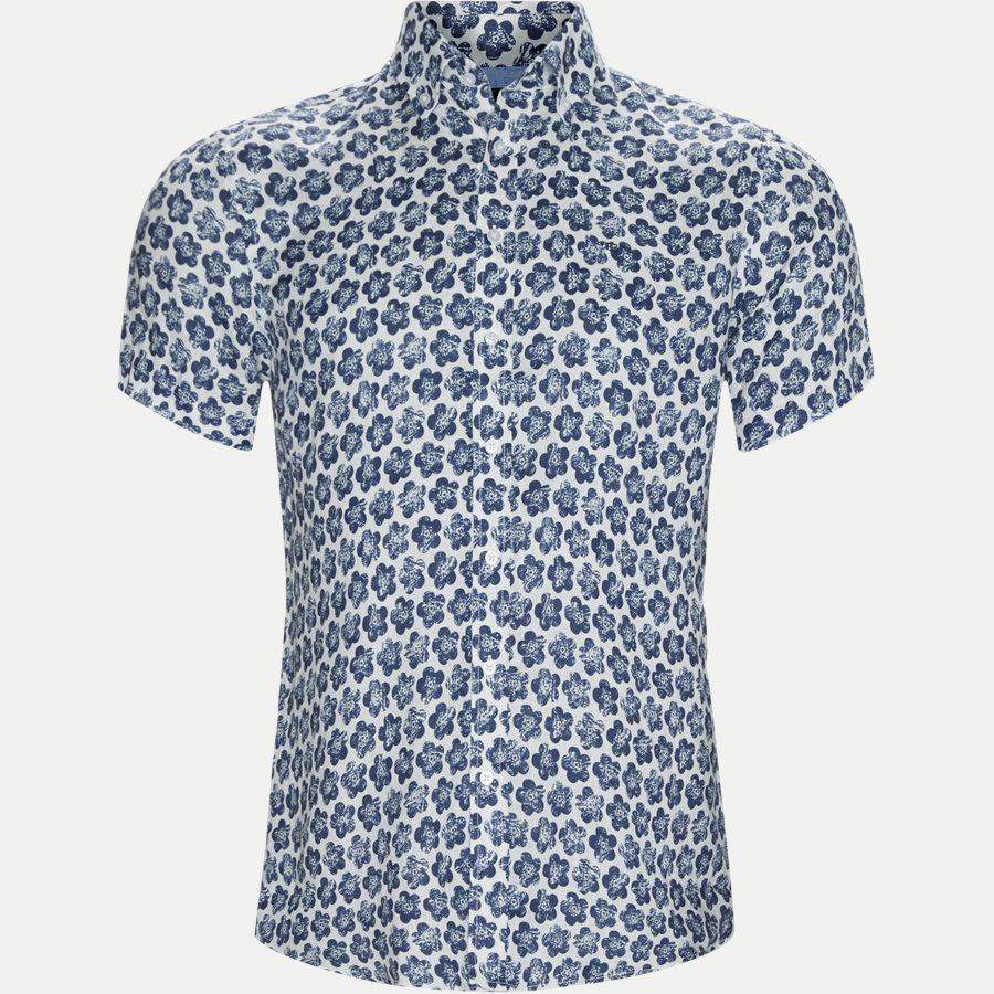 3014 SHIRT - Kortærmet Skjorte - Skjorter - Regular - BLÅ - 1