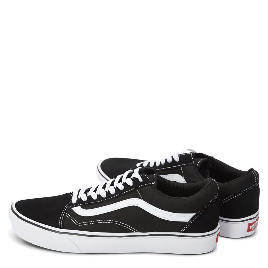 COMFY CUSH SKOOL VN0A3WMAVNE1 - Comfycush Old Skool Lightweight - Sko - SORT - 3