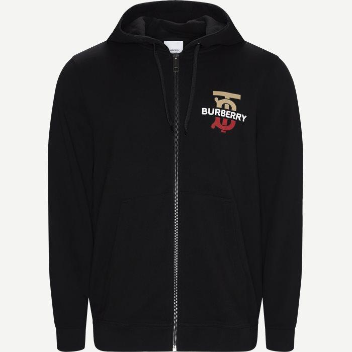 M: Mucklow Zip Sweatshirt - Sweatshirts - Regular - Sort