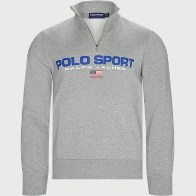 Polo Sport Half-Zip Sweatshirt Regular | Polo Sport Half-Zip Sweatshirt | Grå