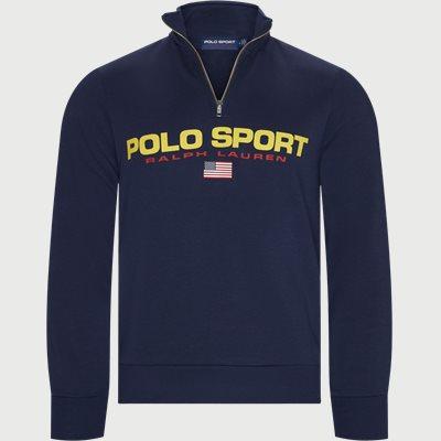 Polo Sport Half-Zip Sweatshirt Regular   Polo Sport Half-Zip Sweatshirt   Blå