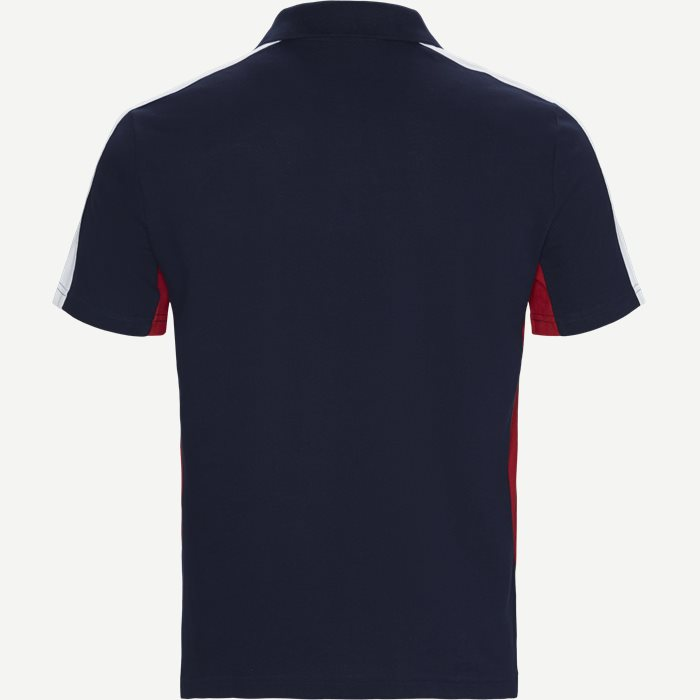 Logo Polo T-shirt - T-shirts - Regular - Blå