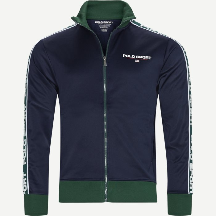 Polo Sport Track Jacket - Sweatshirts - Regular - Blå