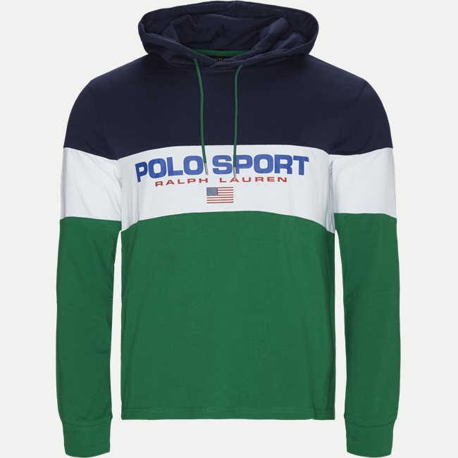 Cotton Polo Hoodie