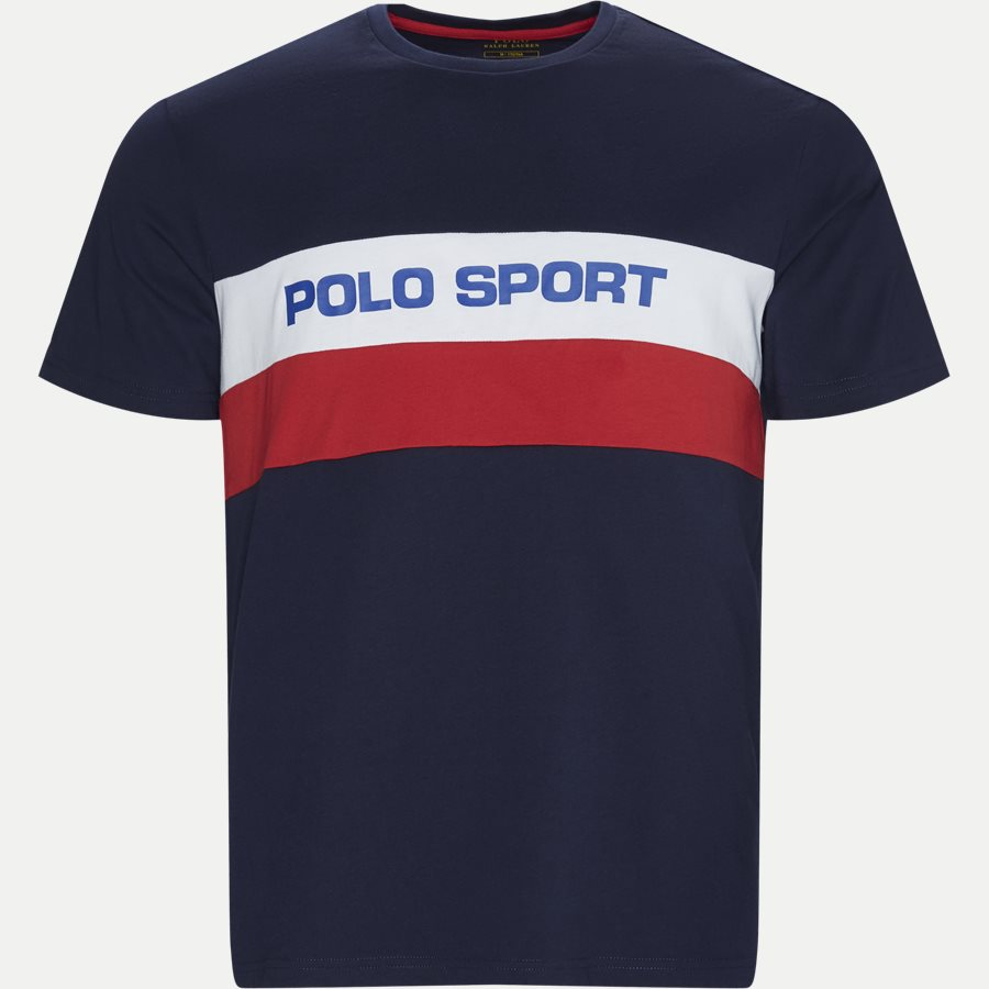 710771984 - Logo Crew Neck T-shirt - T-shirts - Regular - NAVY - 1