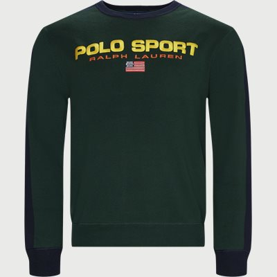 Polo Sport Cotton Jumper Regular | Polo Sport Cotton Jumper | Grøn