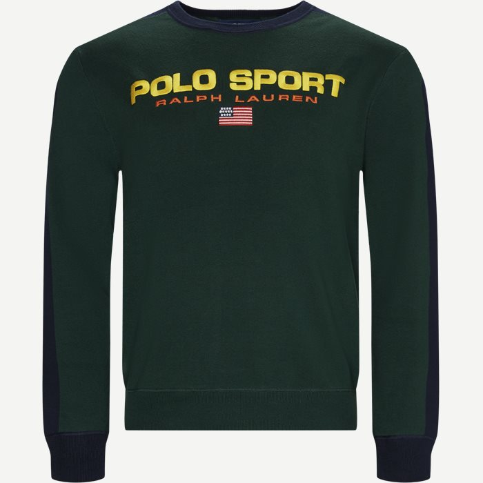 Polo Sport Cotton Jumper - Sweatshirts - Regular - Grøn