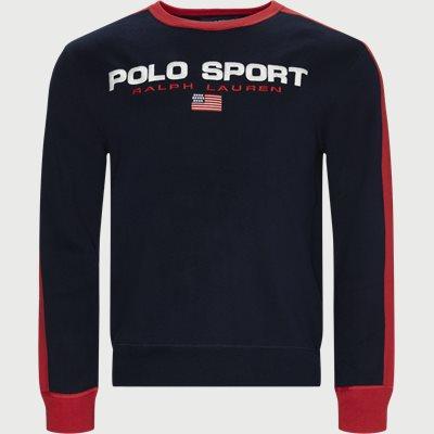 Polo Sport Cotton Jumper Regular | Polo Sport Cotton Jumper | Blå