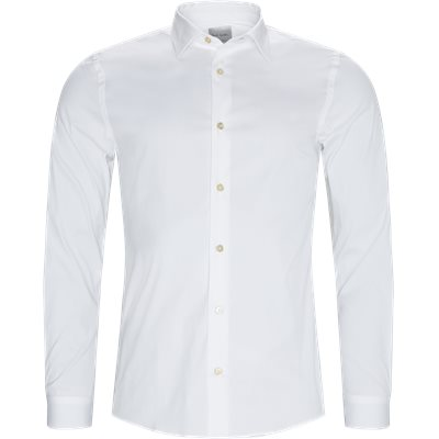 Slim fit | Skjorter | Hvid