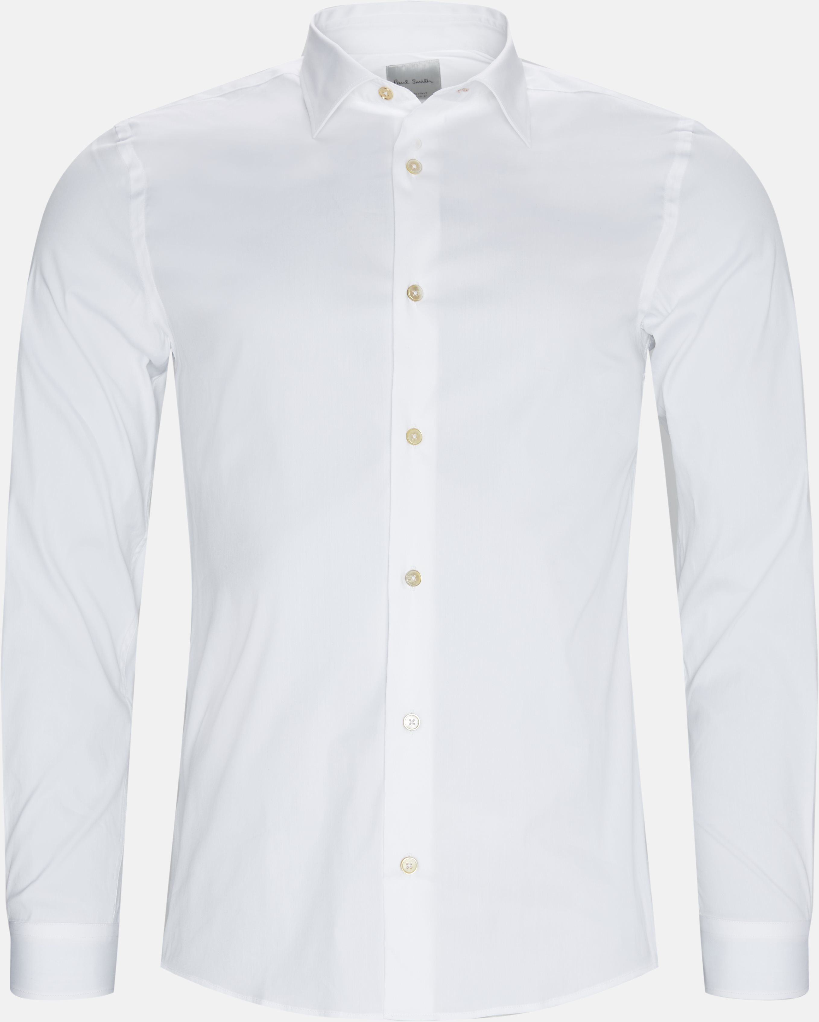 Shirts - Slim - White