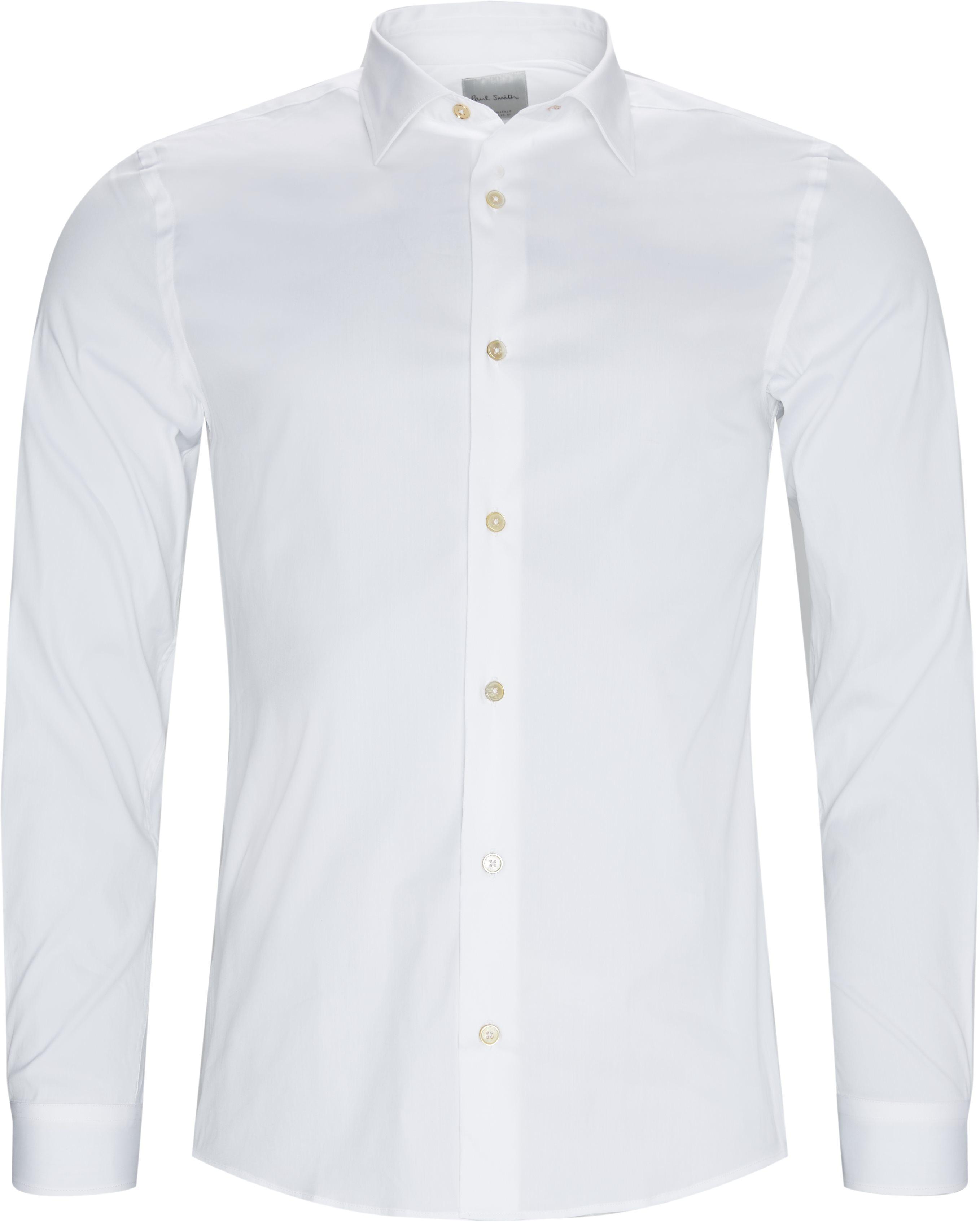 Skjorter - Slim fit - Hvid