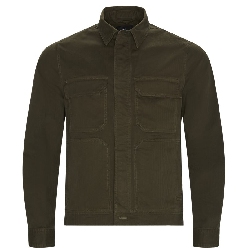 ps by paul smith Ps by paul smith regular fit 505t a20764 skjorter army fra axel.dk
