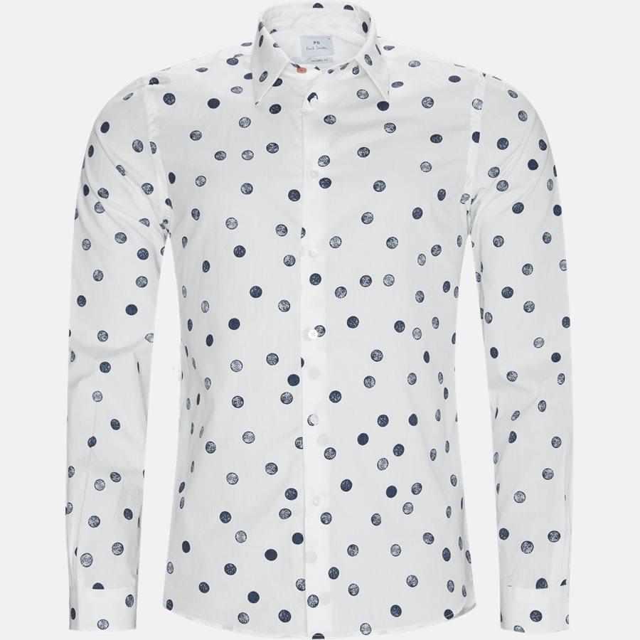 610P A20719 - Skjorter - Tailored fit - HVID - 1