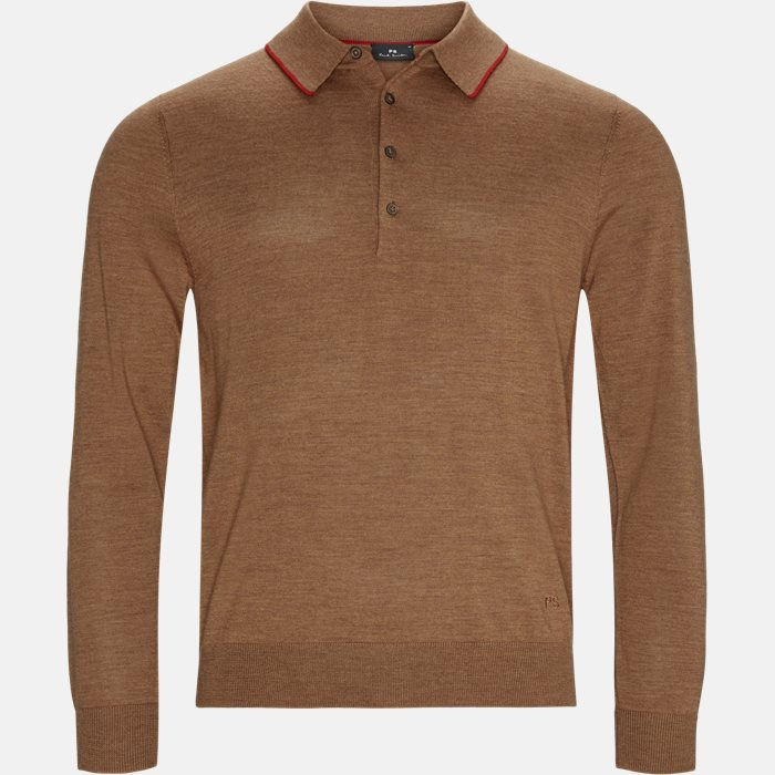 Knitwear - Regular fit - Brown
