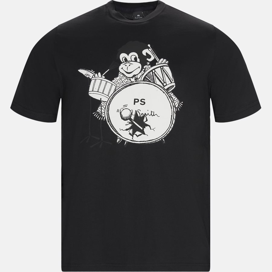 11R AP1530 - T-shirts - Regular fit - SORT - 1