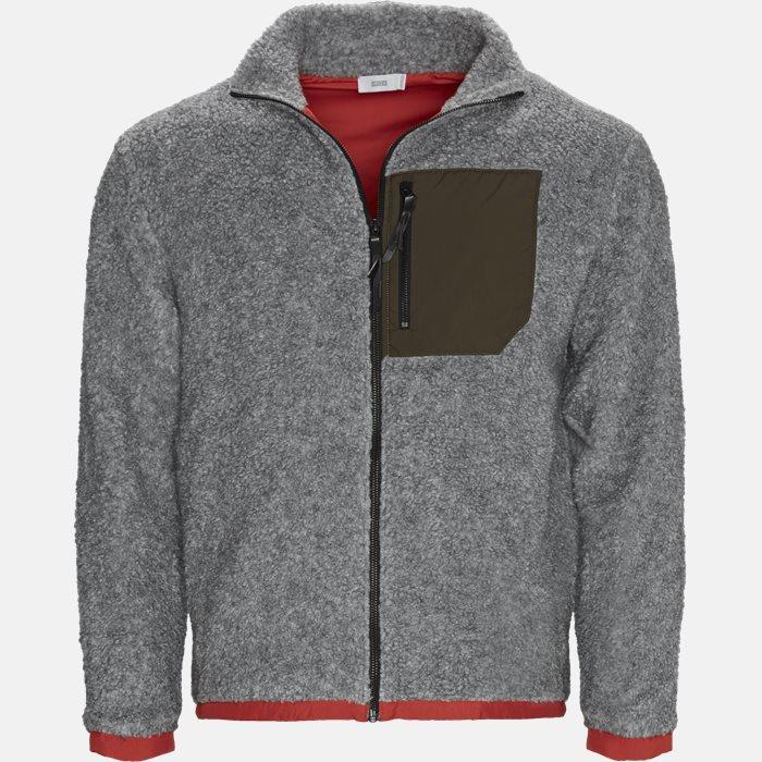 Sweatshirts - Regular fit - Grå
