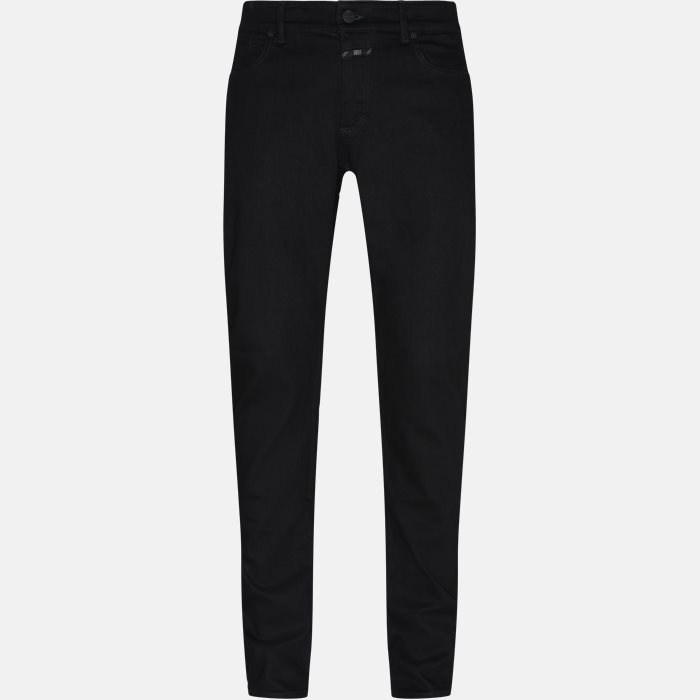 Jeans - Slim - Sort