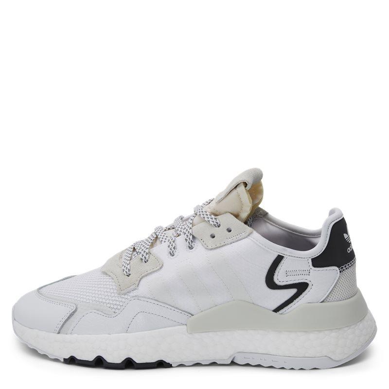 Image of   Adidas Originals Nite Jogger Sneaker Hvid
