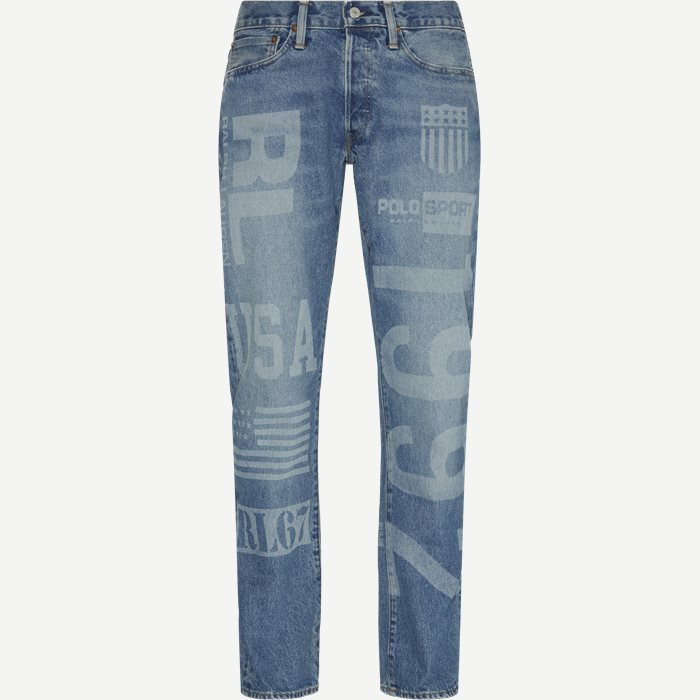 Jeans - Straight fit - Denim