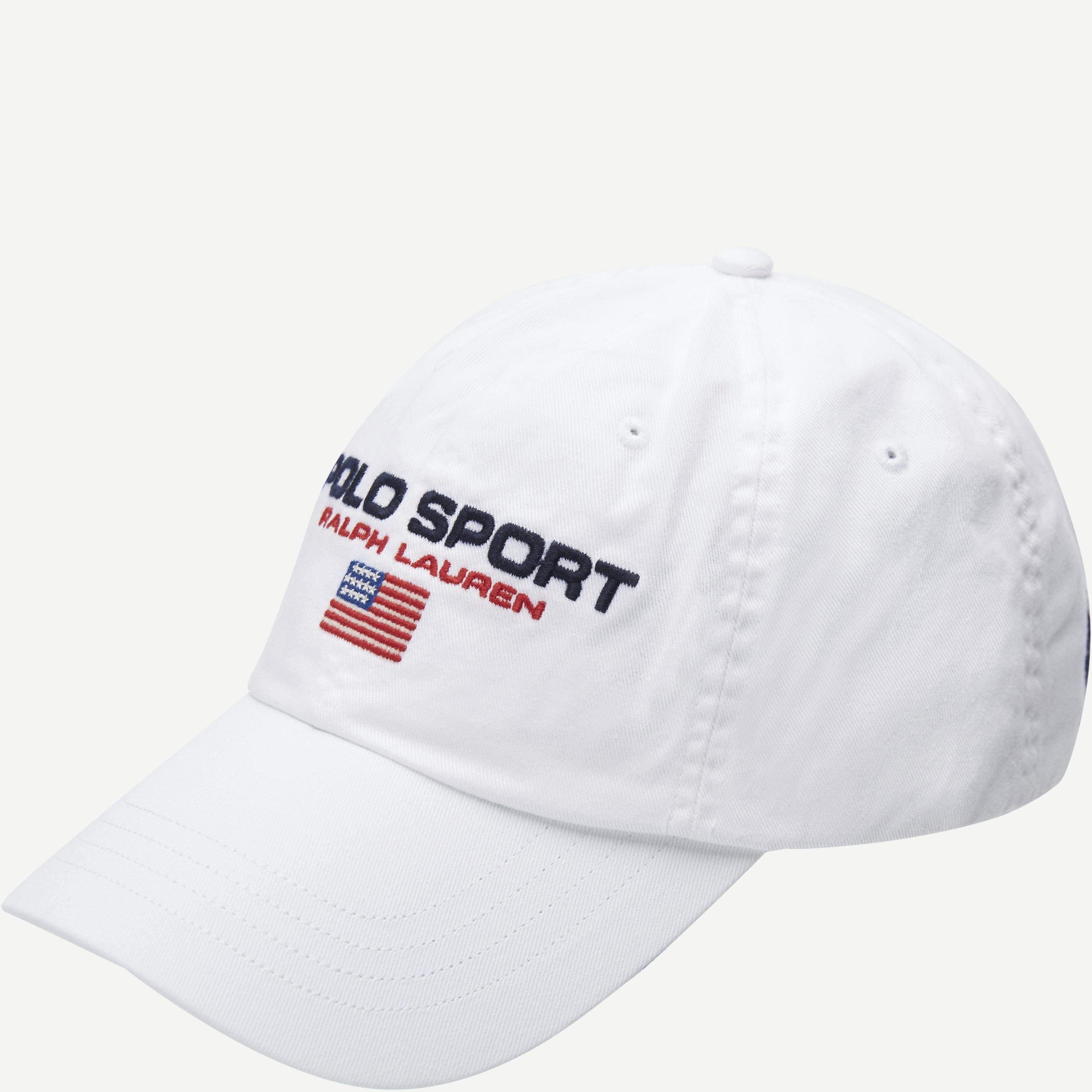 Polo Sport Logo Cap - Caps - Hvid