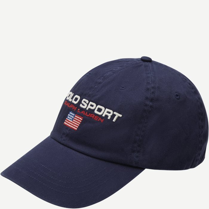 Polo Sport Logo Cap - Caps - Blå