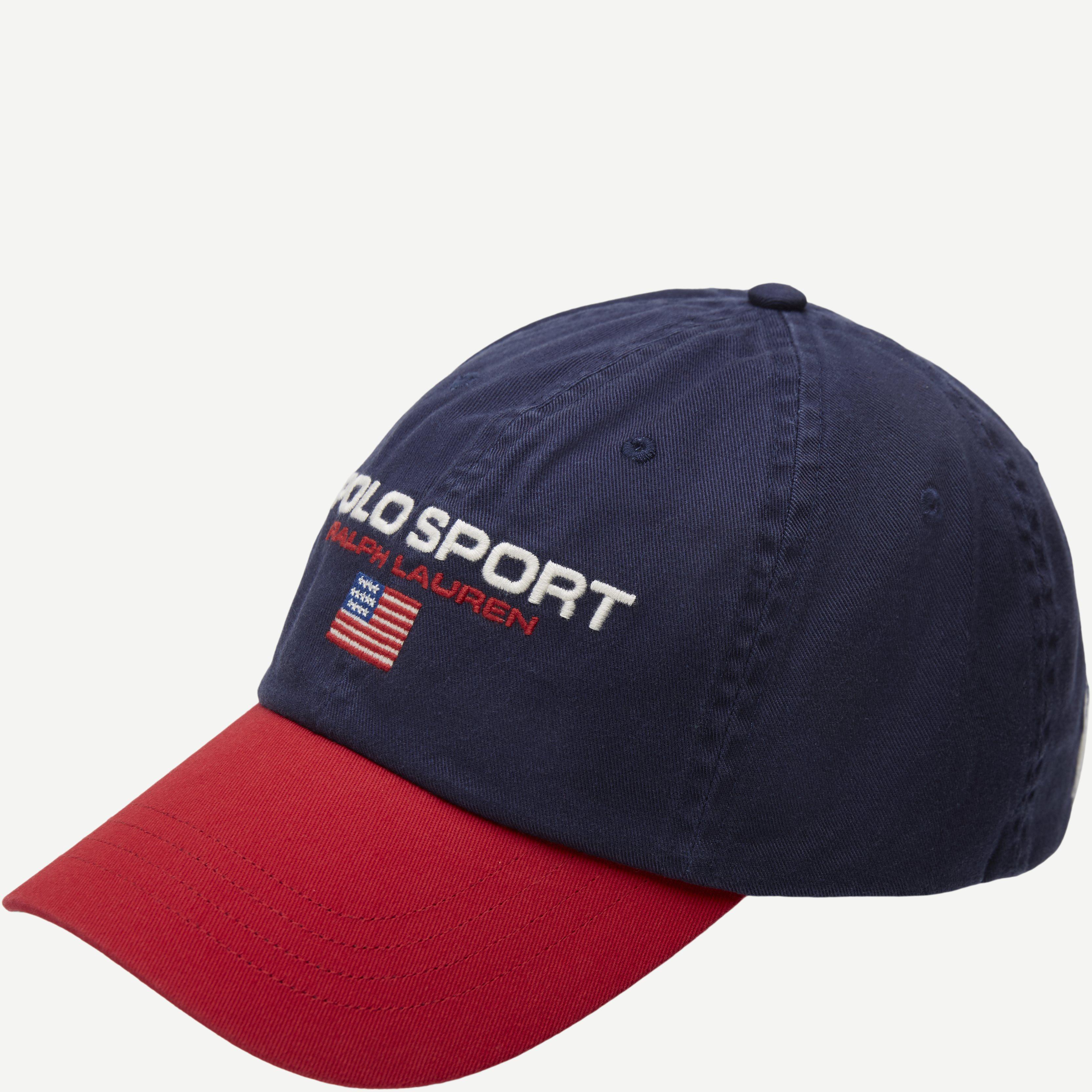Polo Sport Logo Cap - Caps - Rød
