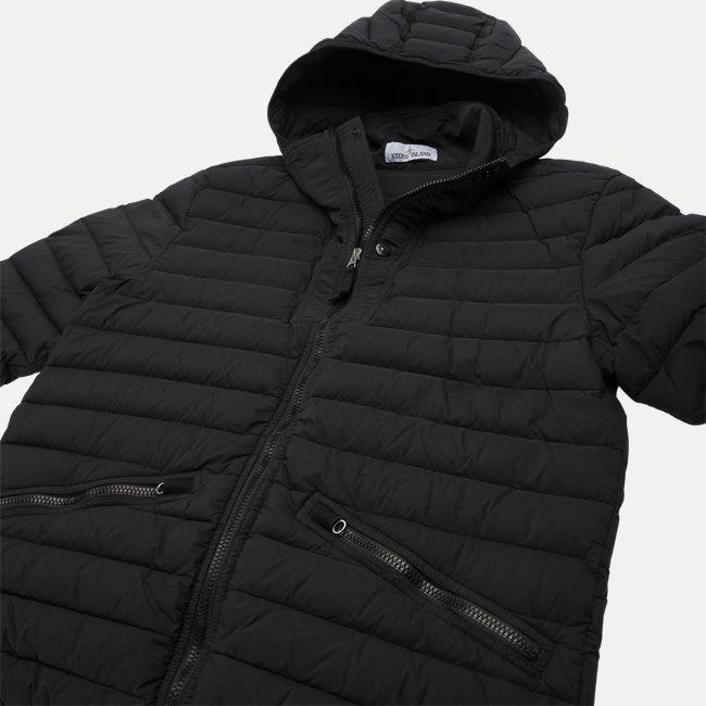 Loom Woven Down Chambers Stretch Nylon Jacket