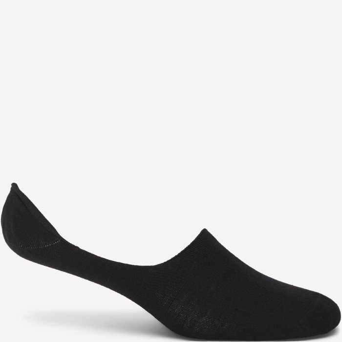 Bamboo In Shoe Socks - Strømper - Sort