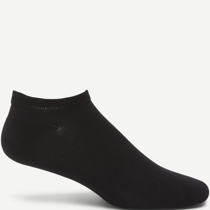 Bamboo Footie Socks - Strømper - Sort