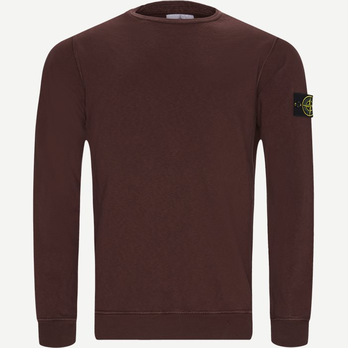 7f75bbcc Old Dye Treatment Sweatshirt - Sweatshirts - Regular - Bordeaux