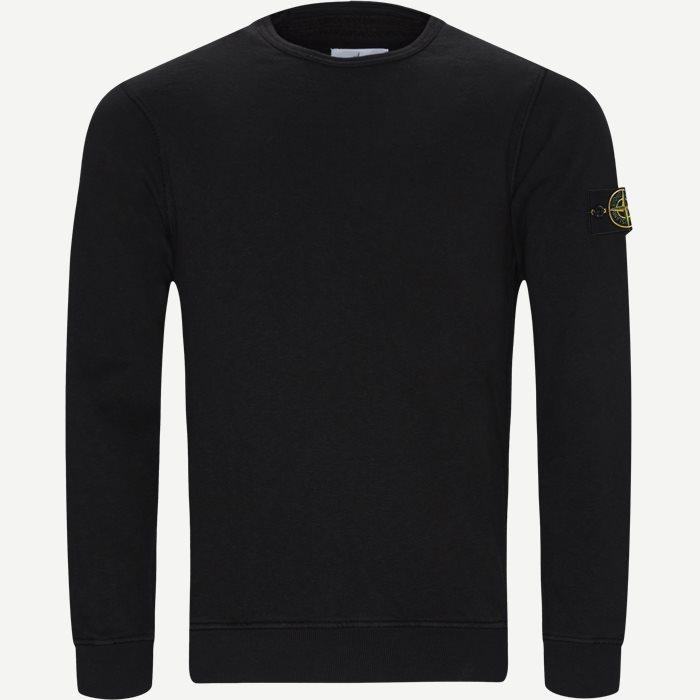 Old Dye Treatment Sweatshirt - Sweatshirts - Regular - Sort