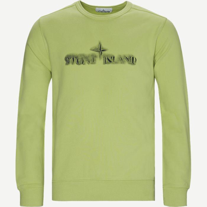 Logo Crewneck Sweatshirt - Sweatshirts - Regular - Grøn