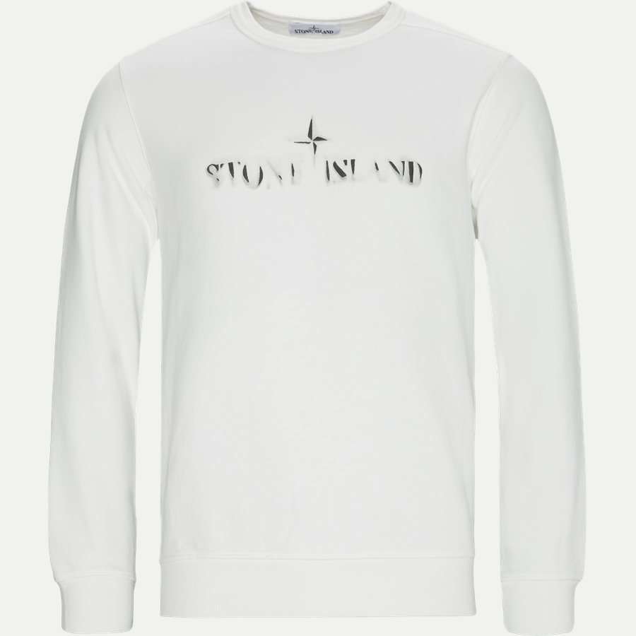 62790 - Logo Crewneck Sweatshirt - Sweatshirts - Regular - HVID - 1