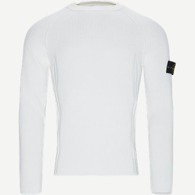 Crewneck Sweater Regular | Crewneck Sweater | Hvid