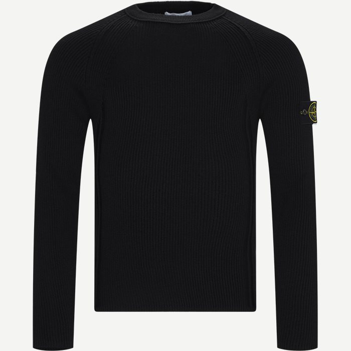 Crewneck Sweater - Strik - Regular - Sort