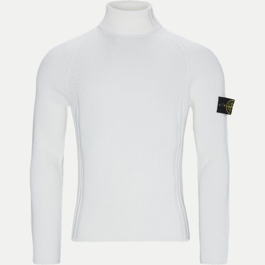 542C2 - High Neck Sweater - Strik - Regular - HVID - 1
