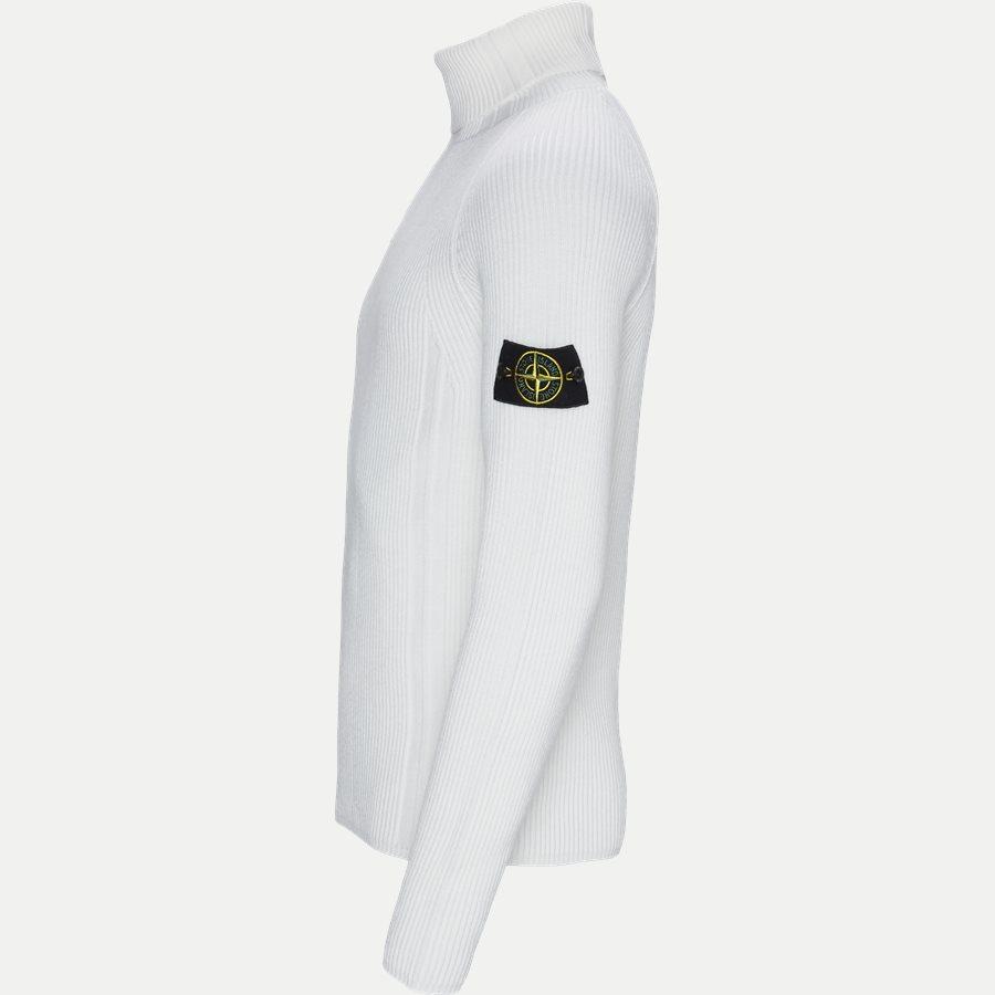542C2 - High Neck Sweater - Strik - Regular - HVID - 3
