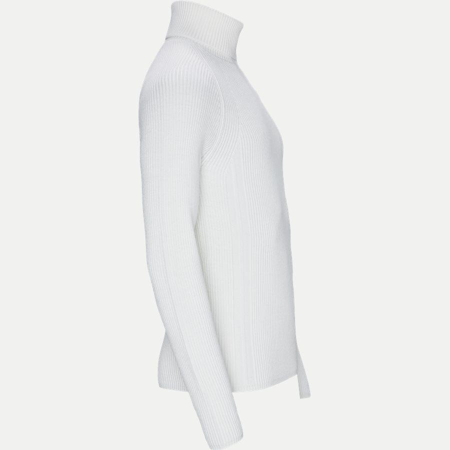 542C2 - High Neck Sweater - Strik - Regular - HVID - 4