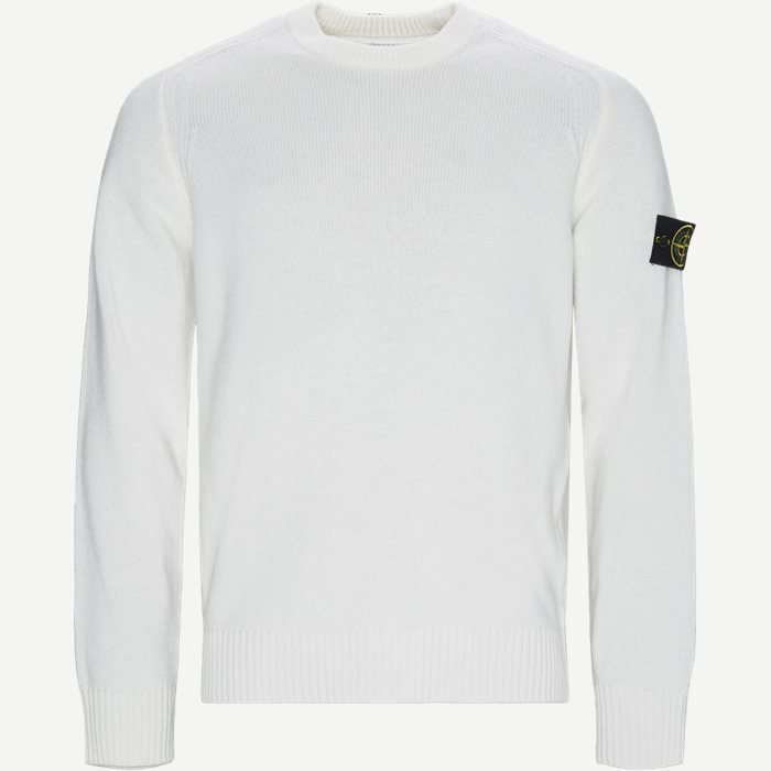 552A3 Crew Neck Sweater - Strik - Regular - Hvid
