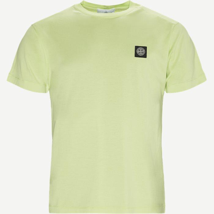 Crewneck Logo T-shirt - T-shirts - Slim - Grøn