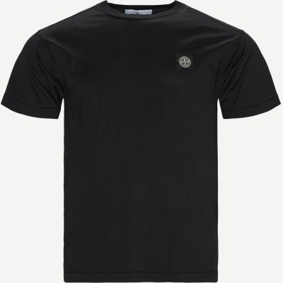 Crewneck Logo T-shirt Slim | Crewneck Logo T-shirt | Sort