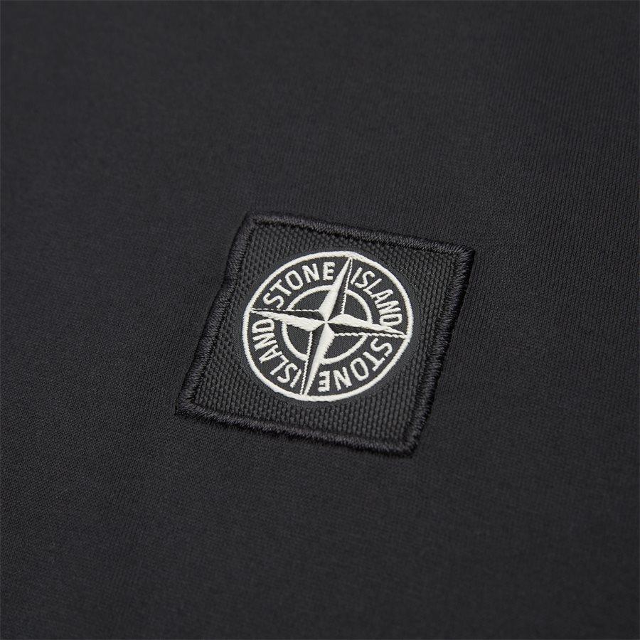 24113 - Crewneck Logo T-shirt - T-shirts - Slim - SORT - 3
