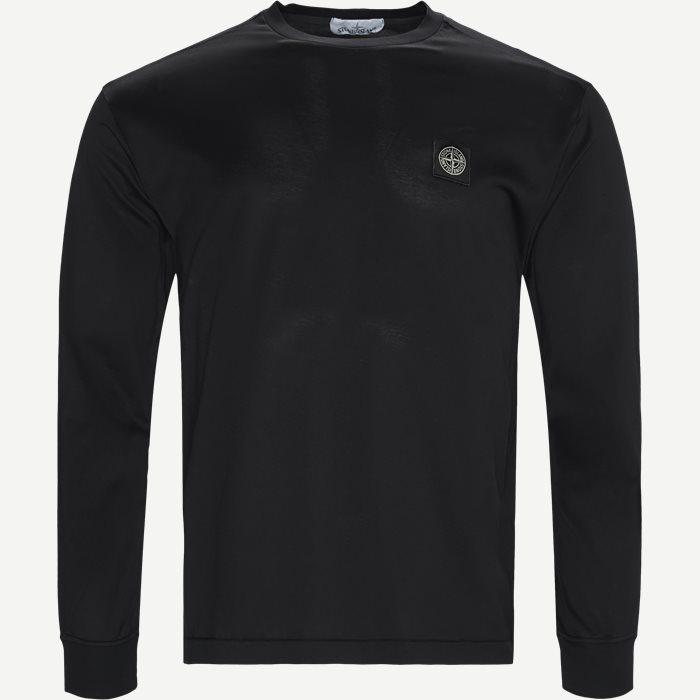 Long Sleeve Logo T-shirt - T-shirts - Slim - Sort