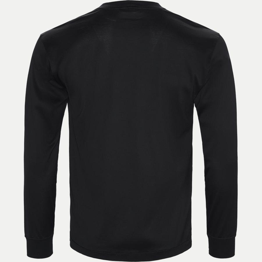 22713 - Long Sleeve Logo T-shirt - T-shirts - Slim - SORT - 2