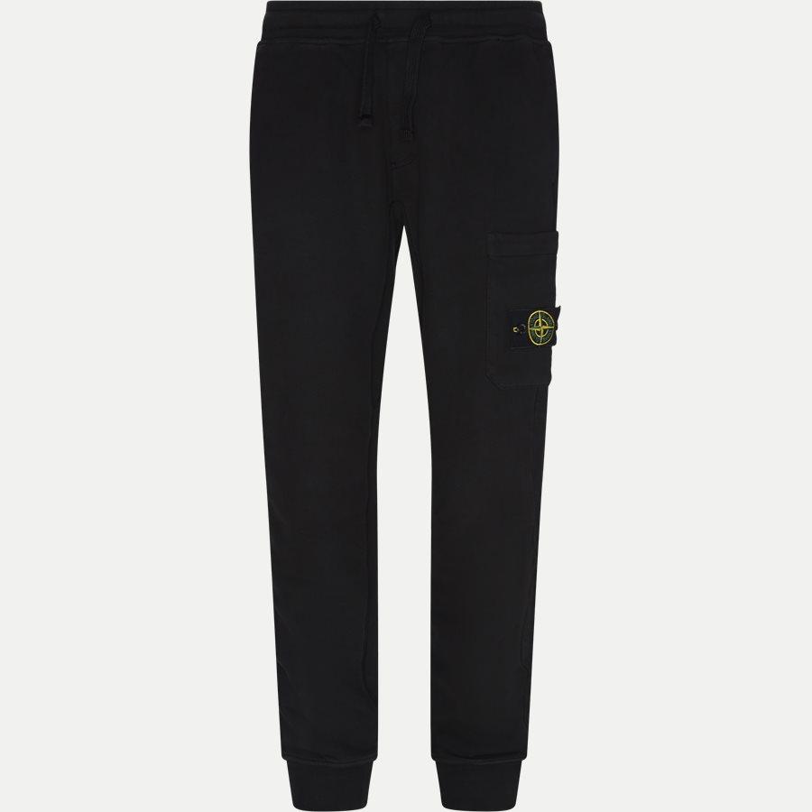 60320 NY - Logo Sweatpants - Bukser - Regular - SORT - 1