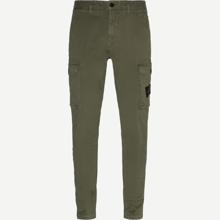 Old Dye Treatment Cargo Pants - Bukser - Regular - Army