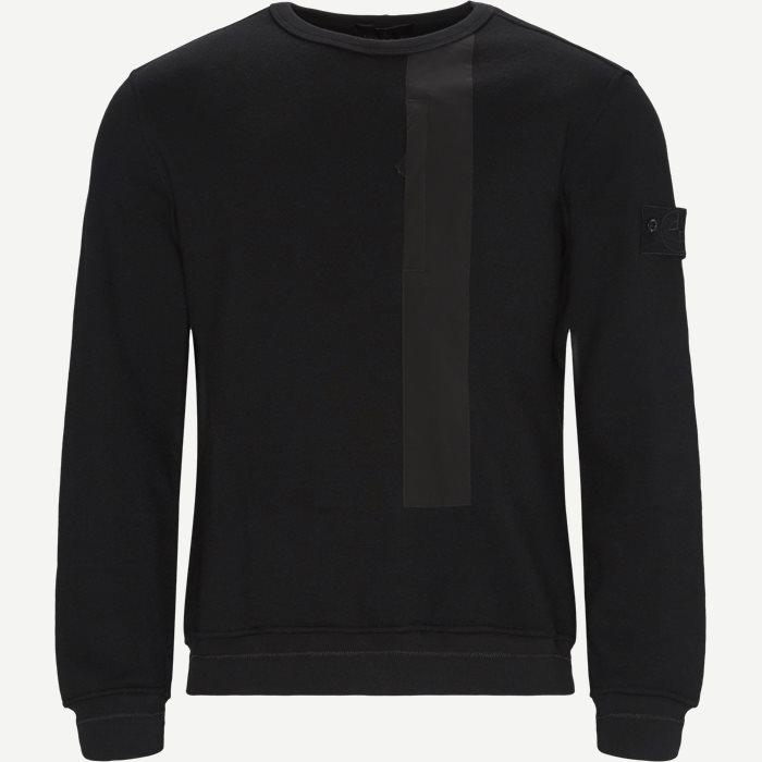 650F3 Ghost Piece Sweatshirt - Strik - Regular - Sort