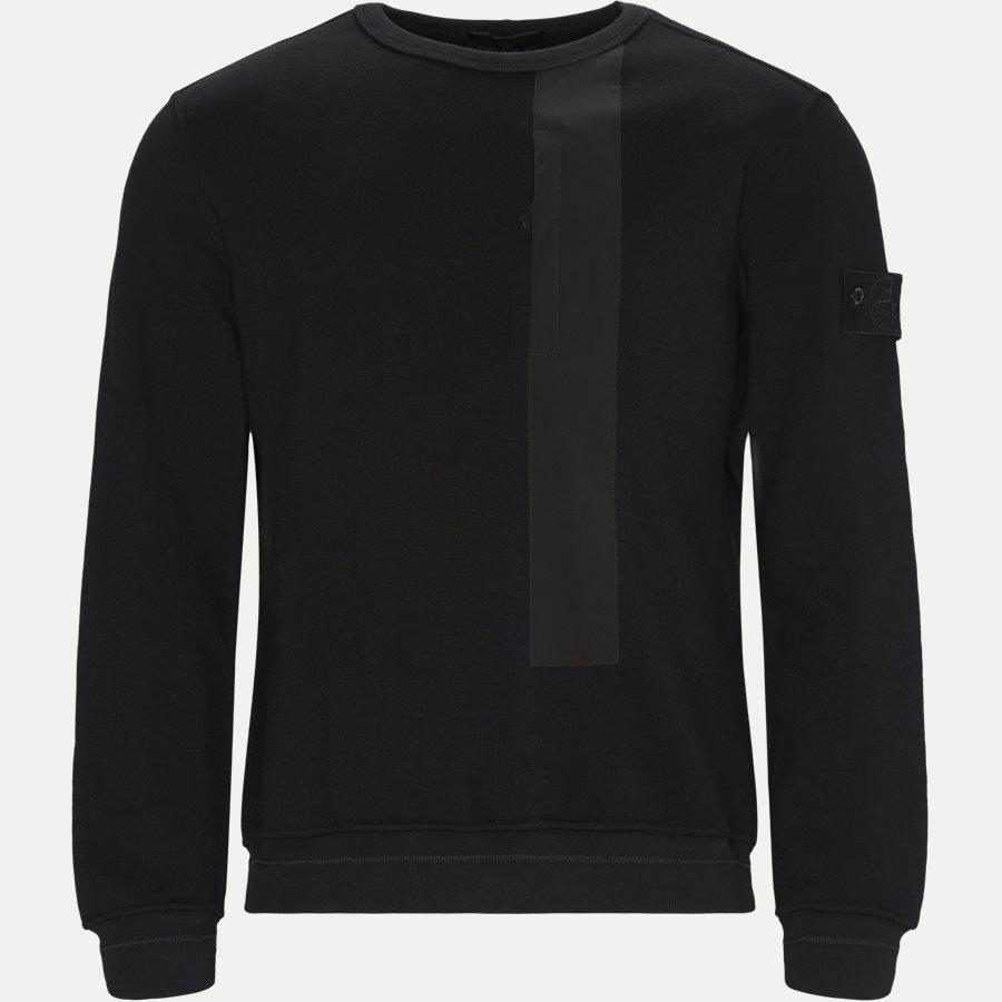 650F3 - 650F3 Ghost Piece Sweatshirt - Sweatshirts - Regular - SORT - 1